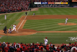 2011 World Series Game 6 - Texas Rangers v St Louis Cardinals, St Louis, MO - Oct. 27: David Freese Photographie par Doug Pensinger