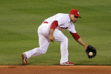 2011 World Series G. 6 - Texas Rangers v St Louis Cardinals, St Louis, MO - Oct. 27: Rafael Furcal Photographic Print by Doug Pensinger