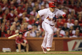 Milwaukee Brewers v St. Louis Cardinals - Game Four, St Louis, MO - October 13: Yadier Molina Photographic Print by Jamie Squire