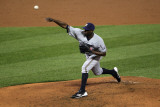 Milwaukee Brewers v St. Louis Cardinals - Game Three, St Louis, MO - October 12: LaTroy Hawkins Photographic Print by Jamie Squire