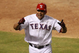 Detroit Tigers v Texas Rangers - Playoffs Game Six, Arlington, TX - October 15: Nelson Cruz Photographic Print by Ronald Martinez