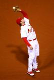 2011 World Series Game 6 - Texas Rangers v St Louis Cardinals, St Louis, MO - Oct. 27: David Freese Photographic Print by Dilip Vishwanat