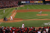 2011 World Series G. 6 - Texas Rangers v St Louis Cardinals, St Louis, MO - Oct. 27: Lance Berkman Photographic Print by Doug Pensinger