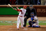 2011 World Series G. 6 - Texas Rangers v St Louis Cardinals, St Louis, MO - Oct. 27: Rafael Furcal Photographic Print by Rob Carr