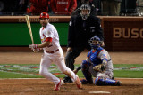 2011 World Series G. 6 - Texas Rangers v St Louis Cardinals, St Louis, MO - Oct. 27: Lance Berkman Photographic Print by Rob Carr