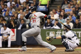 St Louis Cardinals v Milwaukee Brewers - Playoffs Game Six, Milwaukee, WI - October 16: Allen Craig Photographic Print by Christian Petersen