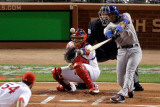 Texas Rangers v St Louis Cardinals, St Louis, MO - Oct. 27: Elvis Andrus and Jaime Garcia Photographic Print by Rob Carr 