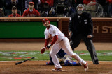 2011 World Series Game 6 - Texas Rangers v St Louis Cardinals, St Louis, MO - October 27 Photographic Print by  Rob Carr