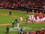 2011 World Series Game 6 - Texas Rangers v St Louis Cardinals, St Louis, MO - Oct. 27: David Freese Photographic Print by Dilip Vishwanat