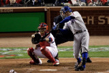 2011 World Series Game 6 - Texas Rangers v St Louis Cardinals, St Louis, MO - Oct. 27: Ian Kinsler Photographic Print by Rob Carr