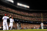 Detroit Tigers v Texas Rangers - Game Six, Arlington, TX - Oct. 15: Josh Hamilton and Adrian Beltre Photographic Print by Kevork Djansezian