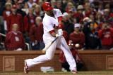 2011 World Series G. 6 - Texas Rangers v St Louis Cardinals, St Louis, MO - Oct. 27: Albert Pujols Fotografisk tryk af Jamie Squire