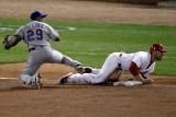 Texas Rangers v St Louis Cardinals, St Louis, MO - Oct. 27: Matt Holliday and Matt Holliday Photographic Print by  Rob Carr