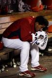 2011 World Series G. 6 - Texas Rangers v St Louis Cardinals, St Louis, MO - Oct. 27: Fernando Salas Photographic Print by Jamie Squire