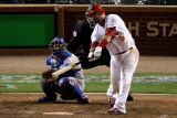 2011 World Series G. 6 - Texas Rangers v St Louis Cardinals, St Louis, MO - Oct. 27: Albert Pujols Photographic Print by Rob Carr