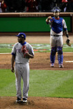 2011 World Series G. 6 - Texas Rangers v St Louis Cardinals, St Louis, MO - Oct. 27: Neftali Feliz Photographic Print by  Rob Carr