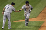 Brewers v St. Louis Cardinals - G. Three, St Louis, MO - Oct. 12: Mark Kotsay and Ed Sedar Photographic Print by Jamie Squire
