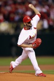 Milwaukee Brewers v St Louis Cardinals - Game Five, St Louis, MO - October 14: Jaime Garcia Photographic Print by Jamie Squire