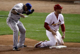 Texas Rangers v St Louis Cardinals, St Louis, MO - Oct. 27: Matt Holliday and Matt Holliday Photographic Print by Rob Carr