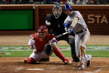 2011 World Series G. 6 - Texas Rangers v St Louis Cardinals, St Louis, MO - Oct. 27: Michael Young Photographic Print by Rob Carr