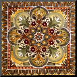 Italian Tile III Mounted Print by Ruth Franks