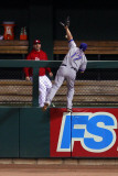 2011 World Series Game 7 - Rangers v Cardinals, St Louis, MO - October 28: Nelson Cruz Photographic Print by Dilip Vishwanat