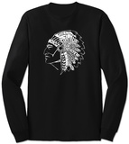 Long Sleeve:  Native American Indian T-Shirt