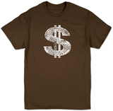 Dollar Sign Shirts