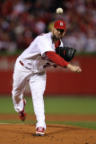 2011 World Series Game 7 - Rangers v Cardinals, St Louis, MO - October 28: Chris Carpenter Photographic Print by Ezra Shaw