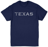 Texas Cities T-shirts