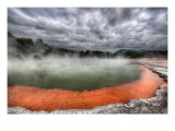 The Artist's Palette in Rotorua Premium Photographic Print by Trey Ratcliff