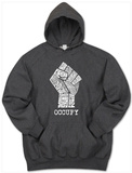 Hoodie: Occupy Wall Street Fight The Power Fist Pullover Hoodie