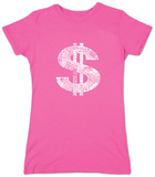 Juniors: Dollar Sign T-Shirts