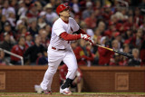 2011 World Series Game 7 - Rangers v Cardinals, St Louis, MO - October 28: Allen Craig Photographic Print by Jamie Squire
