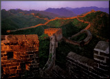 The Great Wall of China Mounted Print by Yann Layma