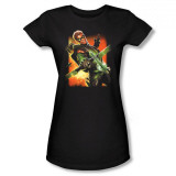 Juniors: DC Comics New 52 - Green Arrow #1 T Shirts