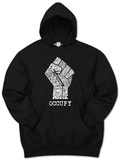 Hoodie: Occupy Wall Street Fight The Power Fist Shirt