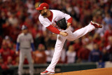 2011 World Series Game 7 - Rangers v Cardinals, St Louis, MO - October 28: Chris Carpenter Photographic Print by Jamie Squire