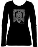 Women's Long Sleeve: Poe - The Raven Koszulka
