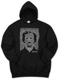 Hoodie: Poe - The Raven - Kapüşonlu Sweatshirt