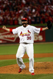 2011 World Series Game 7 - Rangers v Cardinals, St Louis, MO - October 28: Jason Motte Photographic Print by Michael Heiman