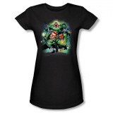 Juniors: DC Comics New 52 - Green Lantern Corps #1 T-shirts