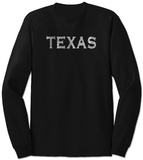 Long Sleeve:  Texas Cities Vêtements