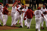 2011 World Series Game 7 - Texas Rangers v St Louis Cardinals, St Louis, MO - October 28 Photographic Print by Rob Carr