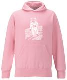 Womens Hoodie: Astronaut Pullover Hoodie