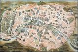Dufour - Paris, France Reprodukce aplikovaná na dřevěnou desku