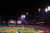 2011 World Series Game 7 - Texas Rangers v St Louis Cardinals, St Louis, MO - October 28 Photographic Print by Dilip Vishwanat