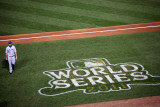 2011 World Series Game 7 - Rangers v Cardinals, St Louis, MO - October 28: Scott Feldman Photographic Print by Dilip Vishwanat