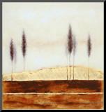 Sweet Wilderness Opspændt tryk af Richard Barrett