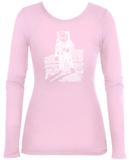 Women's Long Sleeve: Astronaut Word Art T-Shirt